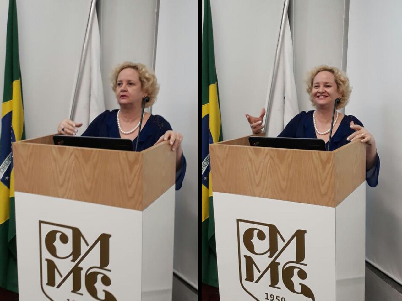 Ana Morici participa de banca de avaliação na Faculdade de Ciências Médicas