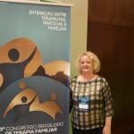 Psicoterapeuta Ana Morici apresenta estudo em congresso no Rio de Janeiro