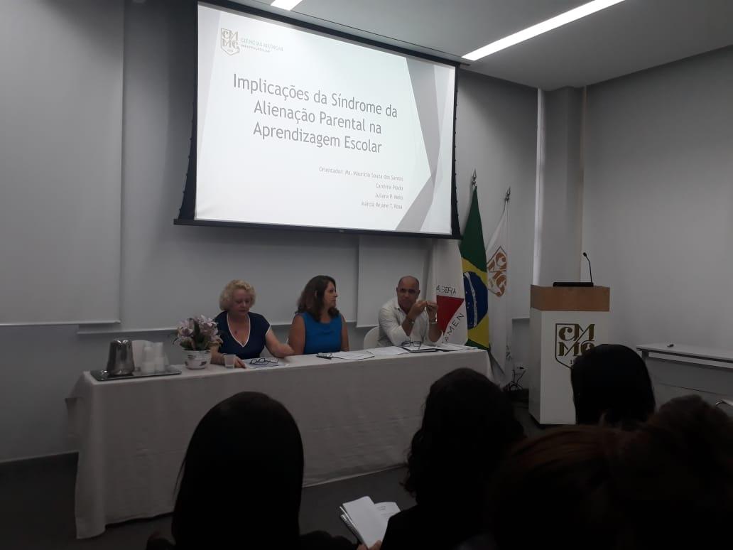 Ana Morici participa de banca de TCC sobre Alienação Parental.