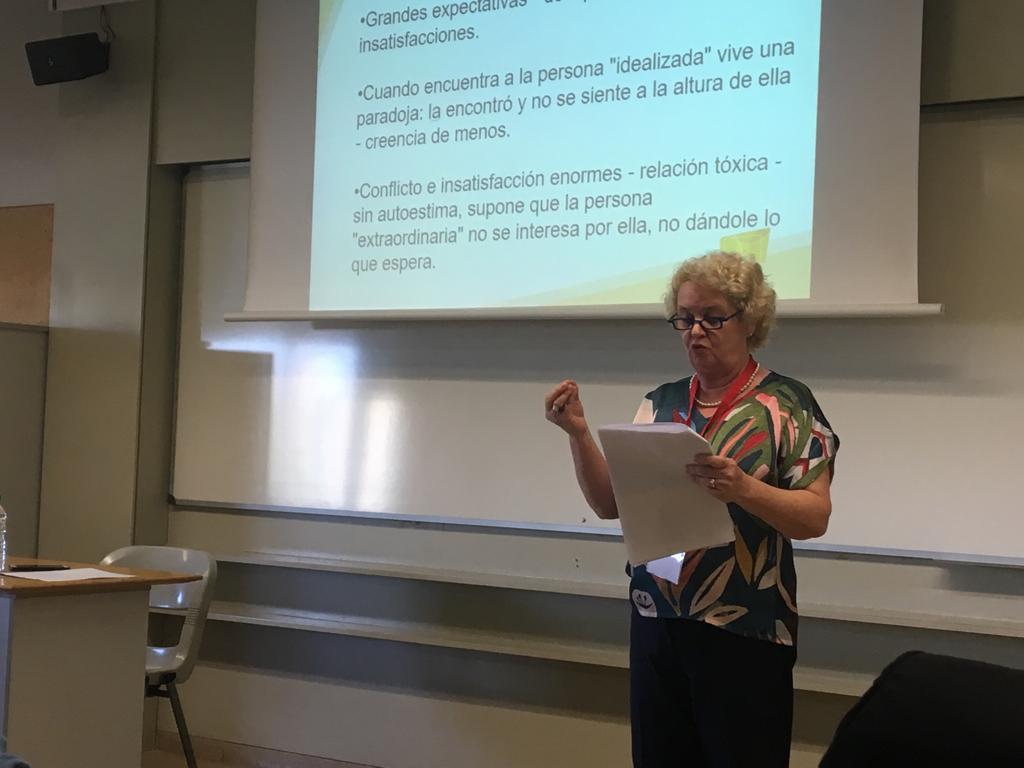 Ana Morici participa de congresso em Barcelona