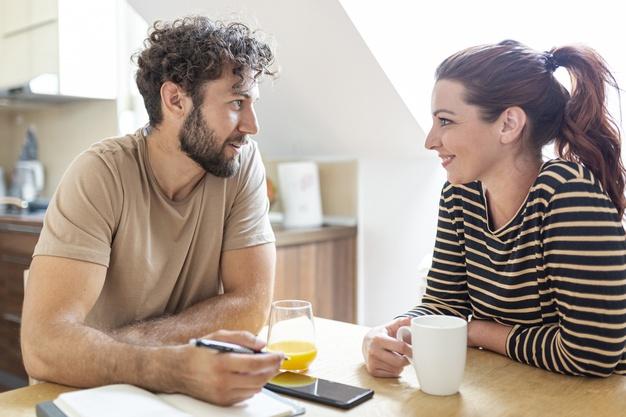 O casal precisa concordar em alguns pontos, se não na maioria deles?